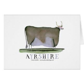 vaca de Ayrshire, fernandes tony Tarjeta De Felicitación