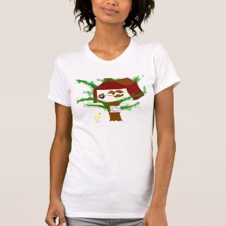 Vaca de Brown del pollo de Brown Camiseta