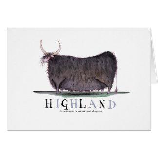 vaca de la montaña, fernandes tony tarjeta de felicitación