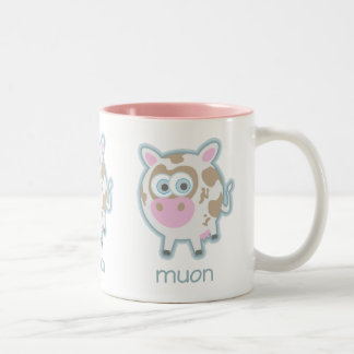 Vaca de la partícula de Muon Tazas De Café