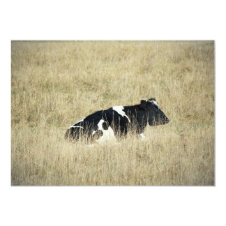 Vaca de reclinación - invitación
