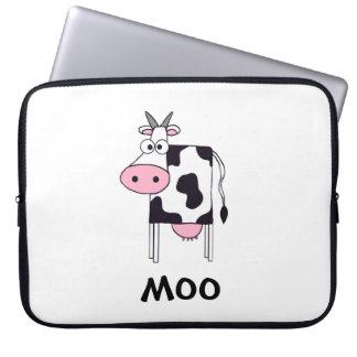 Vaca del MOO Funda Para Portátil