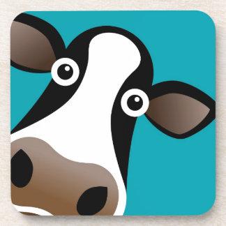 Vaca del MOO Posavasos Para Bebidas