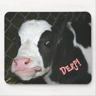 Vaca divertida Mousepad de Derp