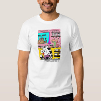 Vaca en una tienda de China. Ningún Bull. Funny Camiseta