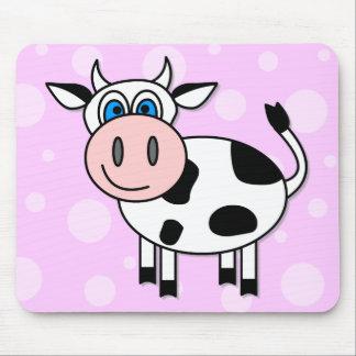 ¡Vaca feliz - personalizable! Alfombrilla De Ratón