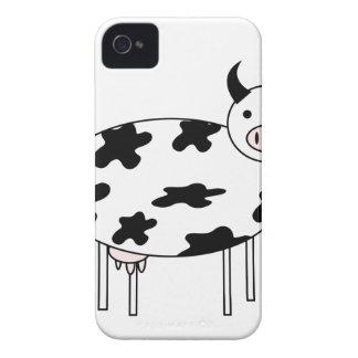 Vaca ilustrada funda para iPhone 4 de Case-Mate