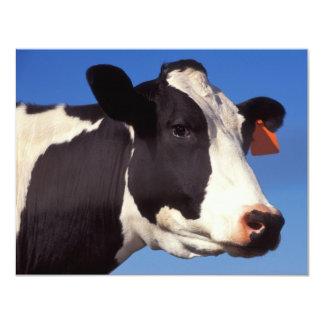 Vaca Invitación 10,8 X 13,9 Cm