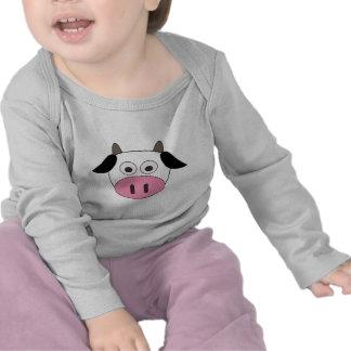 Vaca linda camiseta