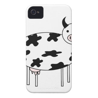 Vaca linda carcasa para iPhone 4 de Case-Mate