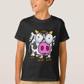 Vaca linda del dibujo animado camiseta
