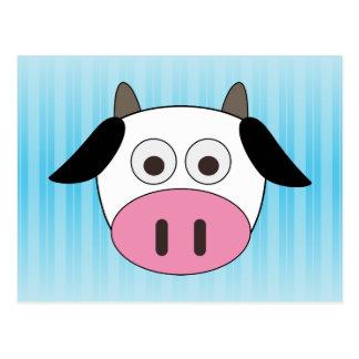 Vaca linda postal
