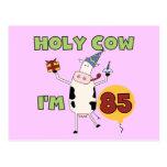 Vaca santa soy 85 camisetas y regalos del cumpleañ postales