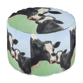 Vaca y becerro de Holstein Puf