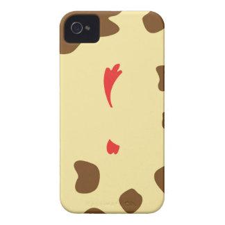Vaca y pollo carcasa para iPhone 4