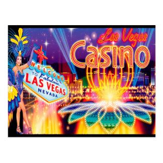 Vacaciones de Las Vegas Postal