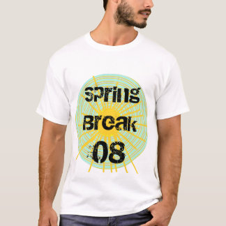 Vacaciones de primavera 08 camiseta