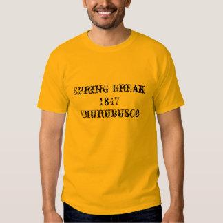 Vacaciones de primavera, 1847, Churubusco - Camiseta