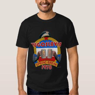 Vacaciones de primavera 1978 (oscuridad) de camisetas