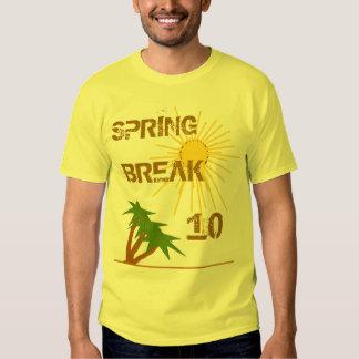 Vacaciones de primavera 2010 camisetas
