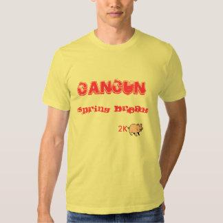 Vacaciones de primavera 2K-Swine Camisas