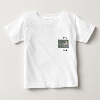 Vacaciones de primavera camiseta para bebé