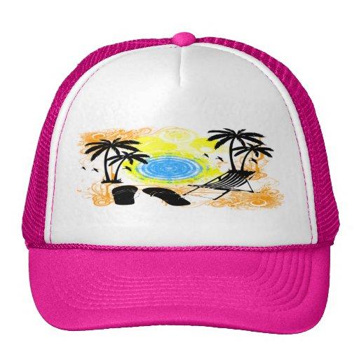 Vacaciones de verano gorra