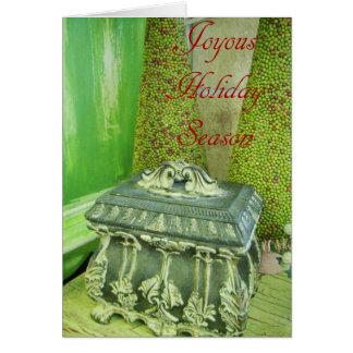 Vacaciones felices tarjeta de felicitación