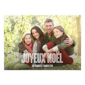 Vacances Joyeux Noël cartes photo Comunicado Personal