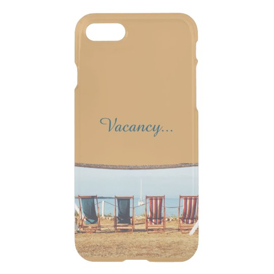 Vacancy_Gold Funda Para iPhone 7