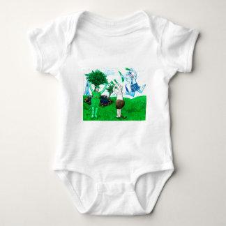Vacas en faldas y vestidos
