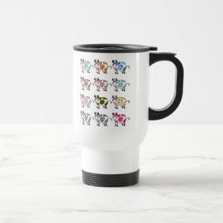 Vacas enrrolladas taza de café