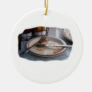 Vacie el diseño comido de Foodie de la comida del  Ornato