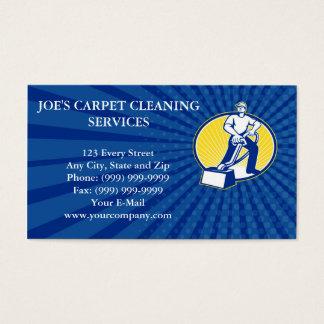 Vacío del limpiador de la alfombra de la tarjeta
