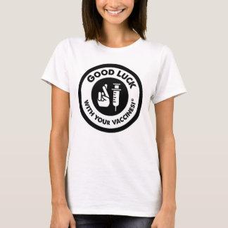 Vacunas de la buena suerte clásicas camiseta