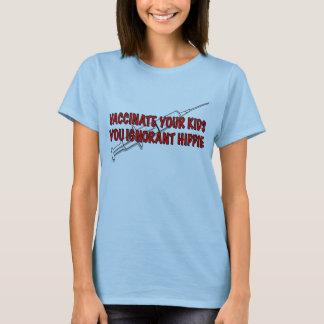 ¡Vacune a sus niños! Camiseta