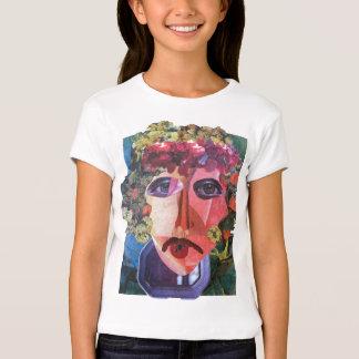 Vagabundo de ayuda de la señora flower power camisas