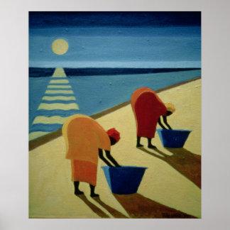 Vagos 1997 de la playa póster