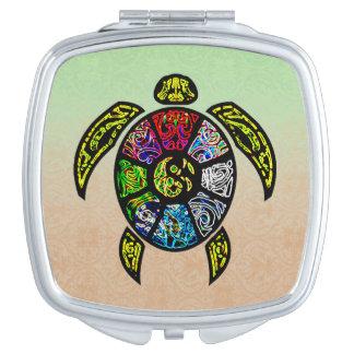 Vagos-Gua de la tortuga Espejo Maquillaje