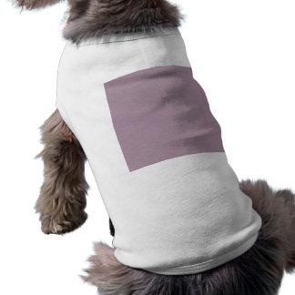 VAGOS PÚRPURAS DE COLOR DE MALVA LIGEROS del COLOR Camiseta Sin Mangas Para Perro