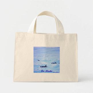 Vaina de la ballena en masa de hielo flotante de h bolsas