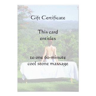 Vale al aire libre del masaje comunicados personales