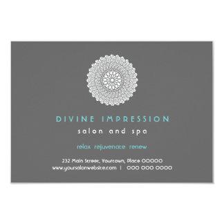 Vale azul de la impresión divina invitación 8,9 x 12,7 cm