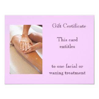 Vale el encerar o del masaje anuncio personalizado