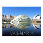 Valencia, ciudad de artes y de ciencias tarjetas postales