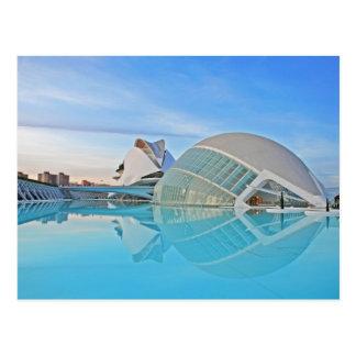 Valencia - Ciudad de las Artes y las Ciencias Tarjeta Postal