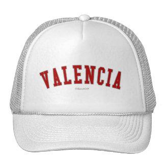 Valencia Gorros Bordados