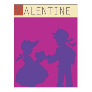 <Valentine> por el minero de Steve Tarjeta Postal