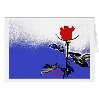 Valentine s Day Card Hablas rosa pop especie Tarjeton