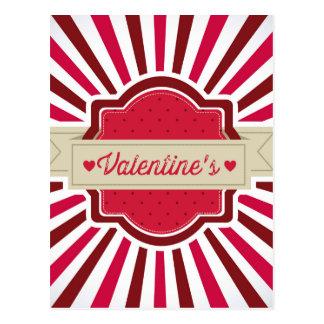 valentines postal